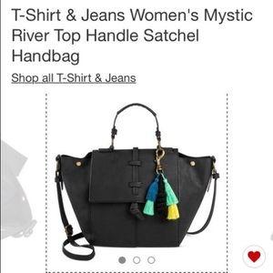 T-shirt & Jeans Woman's,Top Handle Satchel Bag